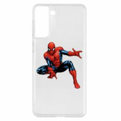 Чохол для Samsung S21+ Hero Spiderman