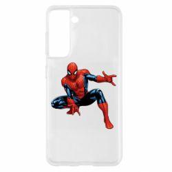 Чохол для Samsung S21 Hero Spiderman