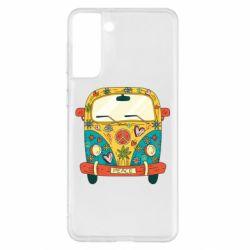 Чохол для Samsung S21+ Hippie bus