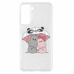 Чохол для Samsung S21 Hippos