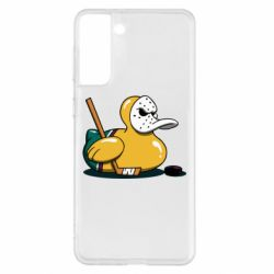 Чохол для Samsung S21+ Hockey duck