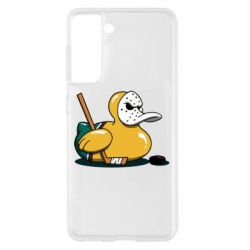 Чохол для Samsung S21 Hockey duck