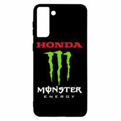 Чохол для Samsung S21+ Honda Monster Energy