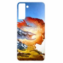 Чехол для Samsung S21+ Horizon Zero Dawn art
