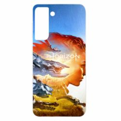 Чехол для Samsung S21 Horizon Zero Dawn art