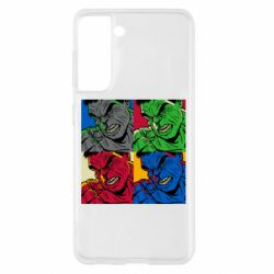 Чохол для Samsung S21 Hulk pop art