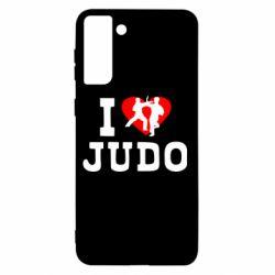 Чохол для Samsung S21+ I love Judo