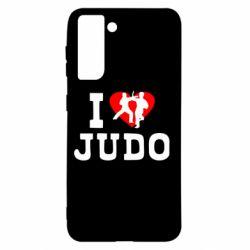 Чохол для Samsung S21 I love Judo