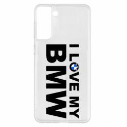 Чохол для Samsung S21+ I love my BMW