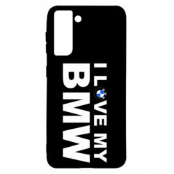Чохол для Samsung S21 I love my BMW