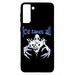 Чохол для Samsung S21+ Ice takes all Dota