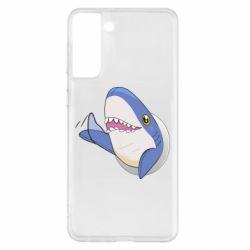 Чехол для Samsung S21+ Ikea Shark Blahaj