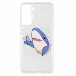 Чехол для Samsung S21 Ikea Shark Blahaj
