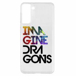 Чохол для Samsung S21+ Imagine Dragons and space