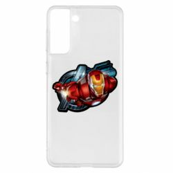 Чохол для Samsung S21+ Iron Man and Avengers