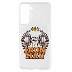 Чохол для Samsung S21 Iron man and sports