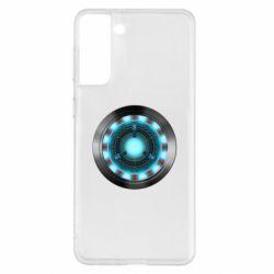 Чехол для Samsung S21+ Iron Man Device