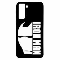 Чохол для Samsung S21 Iron Man face and logo