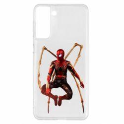 Чохол для Samsung S21+ Iron man spider