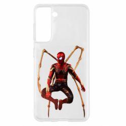 Чохол для Samsung S21 Iron man spider