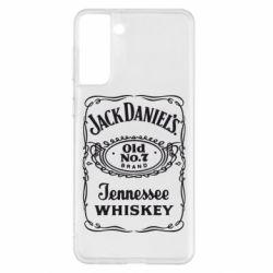 Чохол для Samsung S21+ Jack daniel's Whiskey