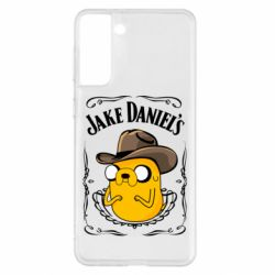 Чохол для Samsung S21+ Jack Daniels Adventure Time
