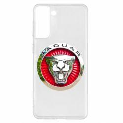 Чехол для Samsung S21+ Jaguar emblem