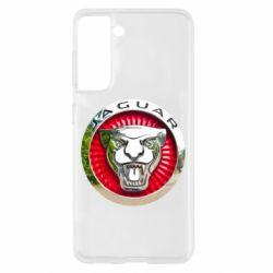 Чехол для Samsung S21 Jaguar emblem