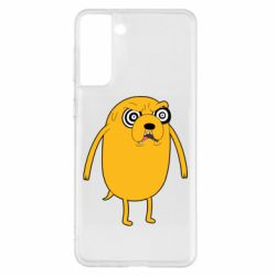 Чохол для Samsung S21+ Jake from  Adventure Time