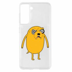 Чохол для Samsung S21 Jake from  Adventure Time