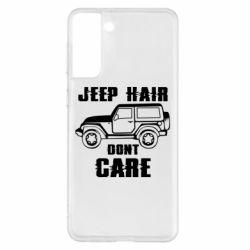 Чохол для Samsung S21+ Jeep hair don't care
