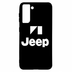 Чехол для Samsung S21 Jeep Logo