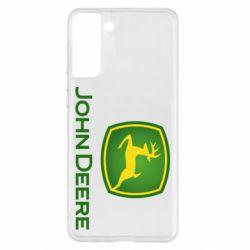 Чохол для Samsung S21+ John Deere logo