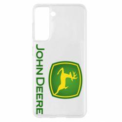 Чохол для Samsung S21 John Deere logo