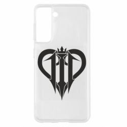 Чохол для Samsung S21 Kingdom Hearts logo