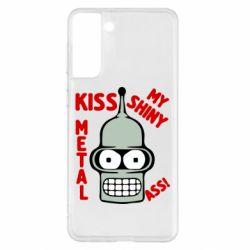 Чохол для Samsung S21+ Kiss metal