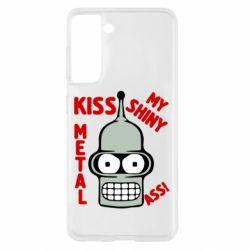 Чохол для Samsung S21 Kiss metal