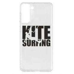 Чохол для Samsung S21+ Kitesurfing