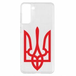 Чехол для Samsung S21+ Класичний герб України