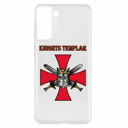 Чохол для Samsung S21+ Knights templar helmet and swords