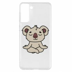 Чехол для Samsung S21+ Koala