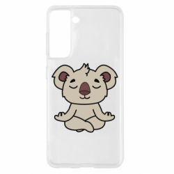 Чехол для Samsung S21 Koala