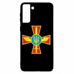 Чохол для Samsung S21+ Хрест з мечем та гербом