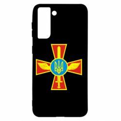 Чохол для Samsung S21 Хрест з мечем та гербом