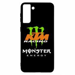 Чохол для Samsung S21+ KTM Monster Enegry