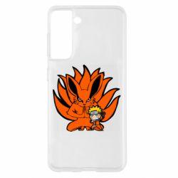 Чохол для Samsung S21 Kurama And Naruto