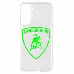 Чохол для Samsung S21 Lamborghini Auto