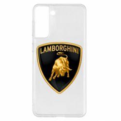 Чохол для Samsung S21+ Lamborghini Logo