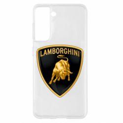 Чохол для Samsung S21 Lamborghini Logo