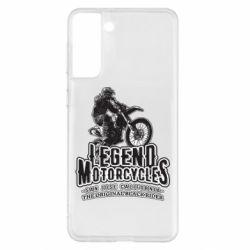 Чохол для Samsung S21+ Legends motorcycle